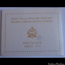 2 Euros Sede Vacante - Vatican 2013