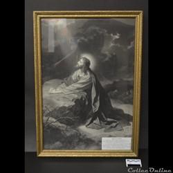 41 - Portrait Jésus à l'Agonie / Origina...