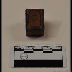 49 - Petite plaque d'impression en cuivr...