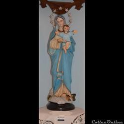 34 - Statue de Notre-Dame du Sacré Coeur