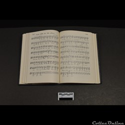 38 - Recueil de chants compilé et écrit ...