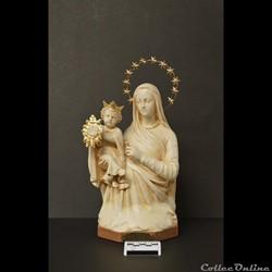 """22 - Statue """"brisée"""" de Notre-Dame du Tr..."""