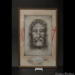 44 - Portrait de la Sainte-Face avec enc...