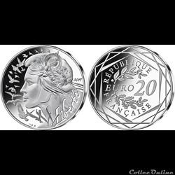 20 euros marianne 2017