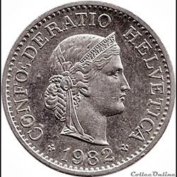 10 centimes suisse  1993