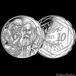 10 euros rodin 2017