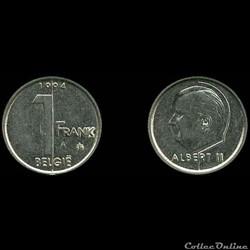 1 frank belge 1995