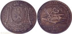 1773 Jeton des agents de change Lyon
