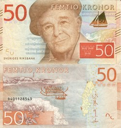 Sveriges Riksbank - 50 Kronor
