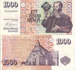 Iceland - 1000 Kronur