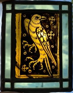 Vitrail essai 1910 - Oiseau 1