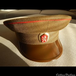 Czechoslovak People's Army Service Cap