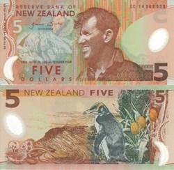 New Zealand - 5 Dollars