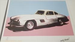 Andy Warhol Mercedes-Benz 300 SL Coupé (...