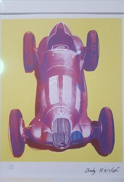 Andy Warhol W125 Race Car jaune (1960), ...