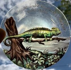 Vitrail 1918 - Salamandre
