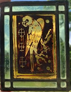 Vitrail essai 1910 - Oiseau 3