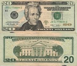 USA - 20 Dollars