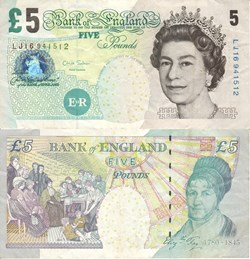 England - 5 Pounds