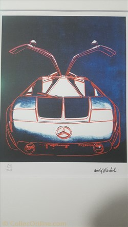 Andy Warhol Mercedes-Benz C 111 Versuchs...