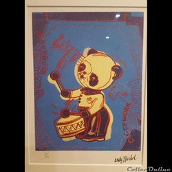 Andy Warhol Panda Drummer (Clockwork) 19...