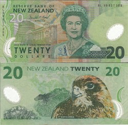 New Zealand - 20 Dollars