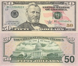 USA - 50 dollars