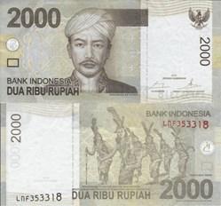 Indonesia - 2000 Rupiah