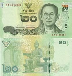 Thailand - 20 Baht