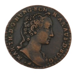 Liard - Marie-Thérèse - 1745 - Bruxelles