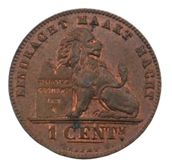 1 centime - Leopold II - 1894 FL