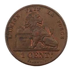 1 centime - Leopold II - 1902 FR