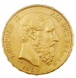 20 francs - Leopold II - 1882