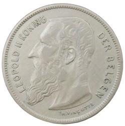 2 francs - Leopold II - 1909 FL