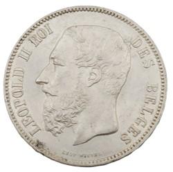 5 francs - Leopold II - 1873