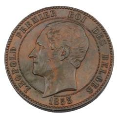 Médaille - module 10 Centimes - Leopold ...