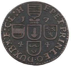 Liard - Jean-Théodore de Bavière - 1744
