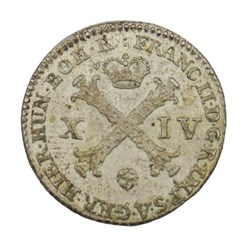 14 liards - François II - 1794