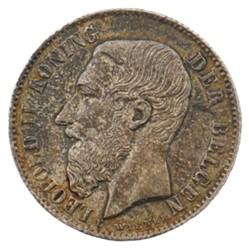 50 centimes - Leopold II - 1886 FL