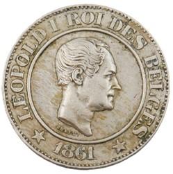 20 centimes - Leopold I - 1861