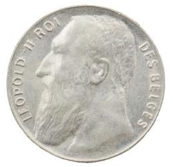 50 centimes - Leopold II - 1901 FR