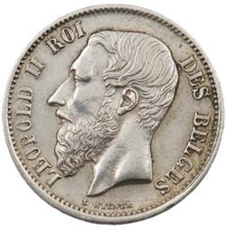 50 centimes - Leopold II - 1898 FR