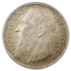 1 franc - Leopold II - 1909 FR
