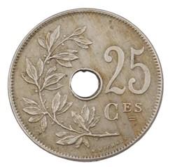 25 centimes - Albert I - 1913 FR