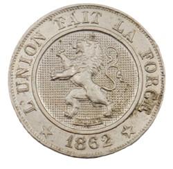 10 centimes - Leopold I - 1862