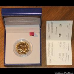 2000 - 1 franc or, B.U.