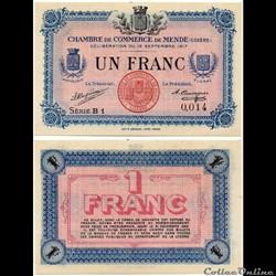 1 franc C.C.M. - Série B1