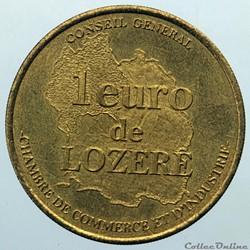 1 euro de Lozère