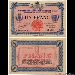 1 franc C.C.M. - Série D8