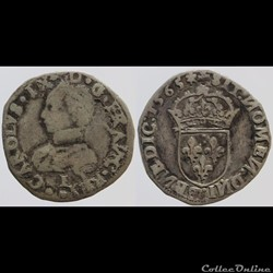 Charles IX - Teston - 1565 Limoges